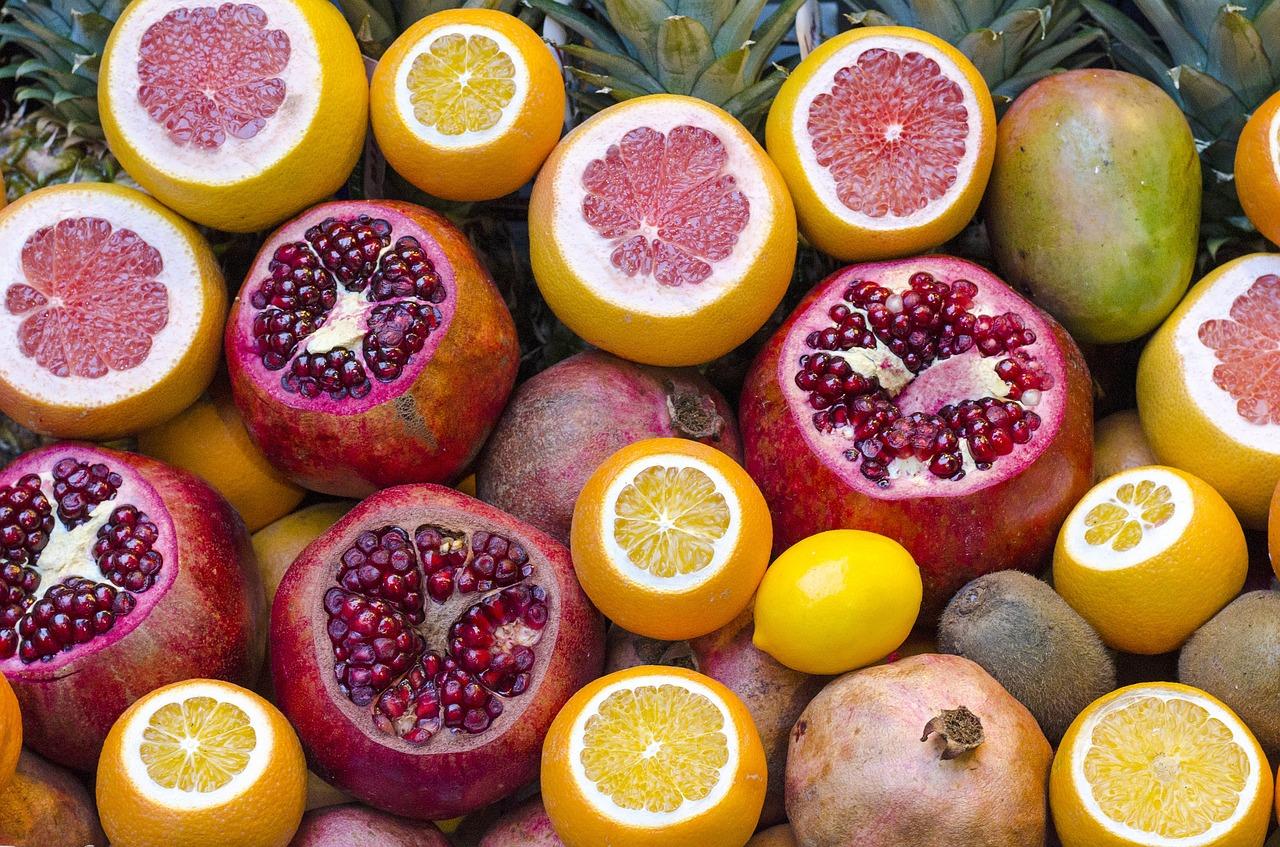 Mieszanka sproszkowanych owoców
